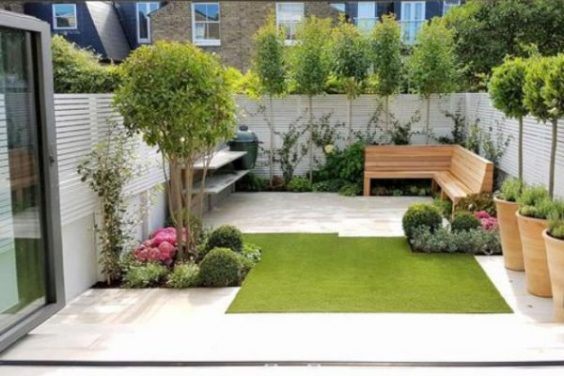 Small Backyard Landscaping feature
