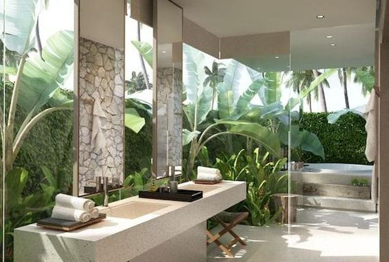 earthy bathroom 19