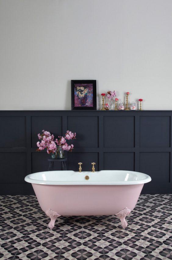 eclectic bathroom ideas 13