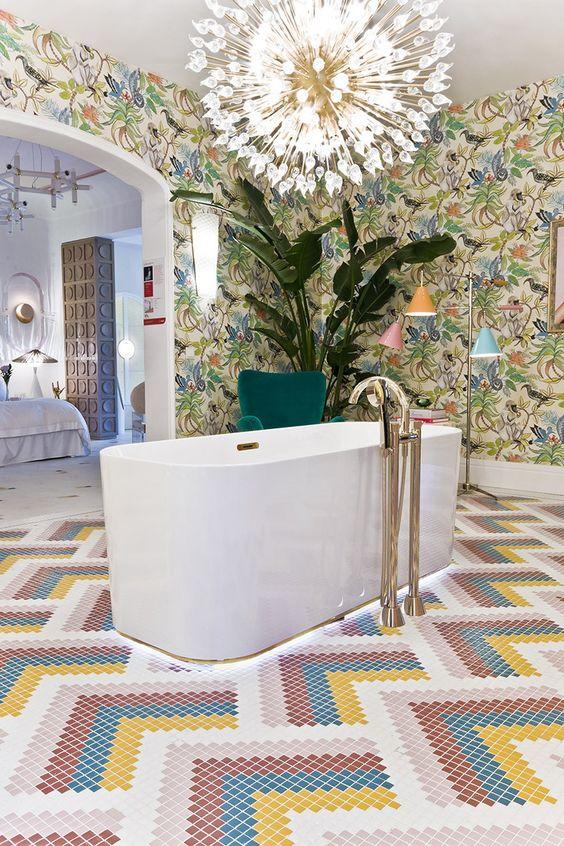 eclectic bathroom ideas 3