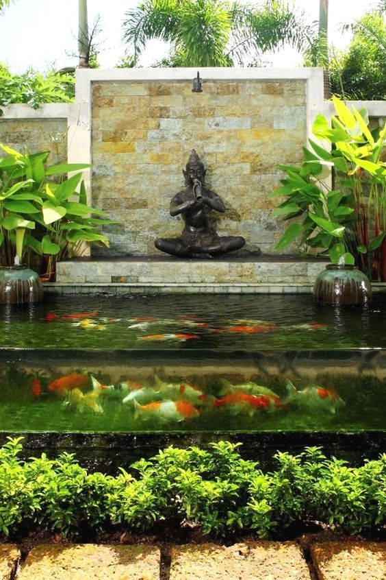 koi pond landscaping 16
