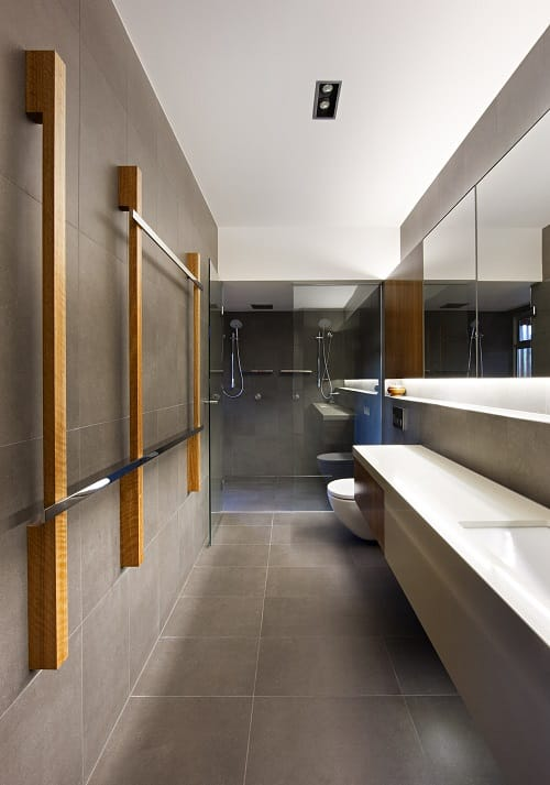 long narrow bathroom 9