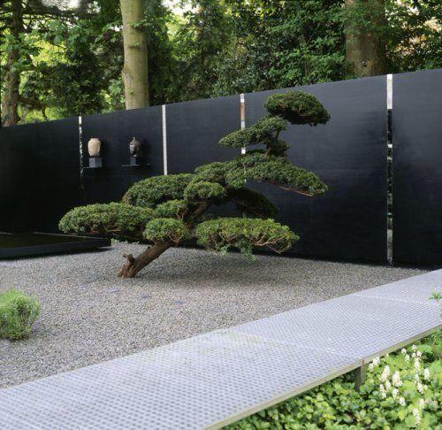 minimalist backyard garden 6