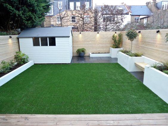 minimalist backyard garden 8