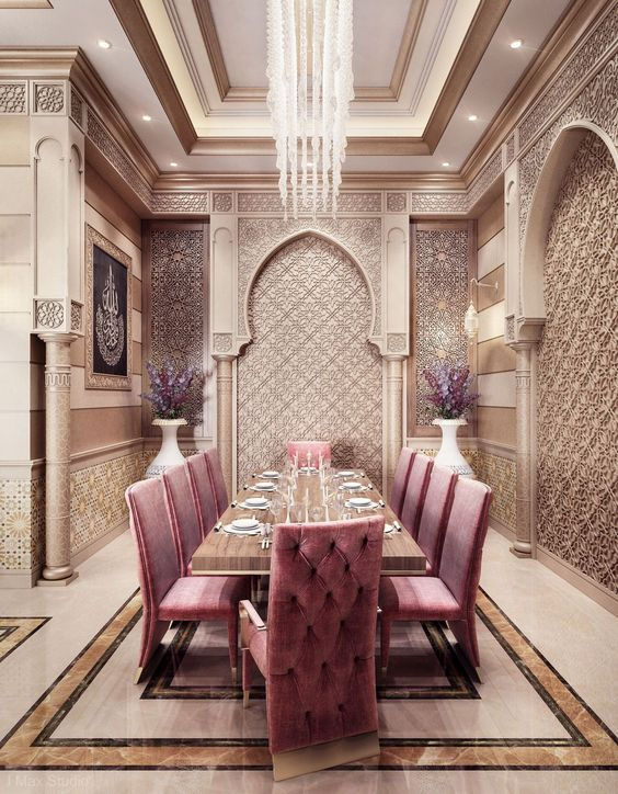 moroccan dining room 3