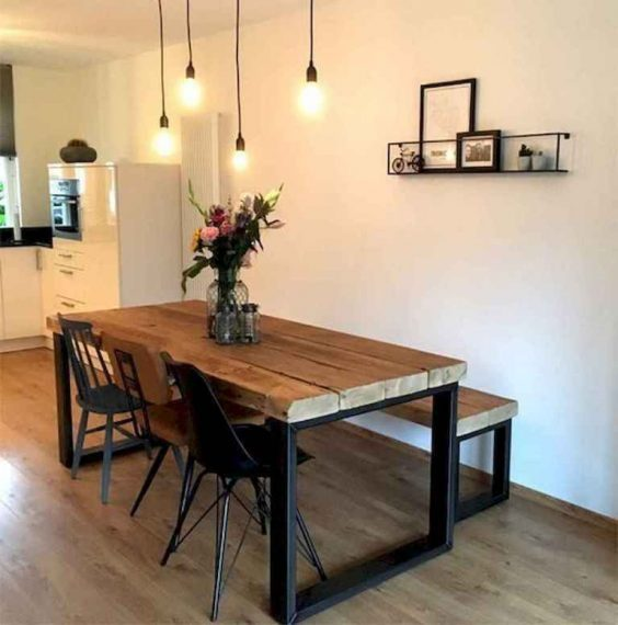 pallet dining table 11
