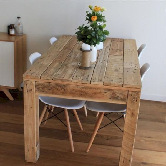 pallet dining table 9