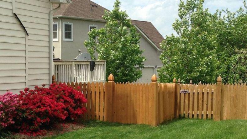 Awesome Wood Fence Design Ideas | RecipeGood