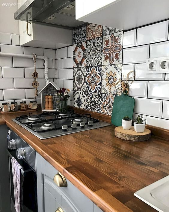 Kitchen Countertop on a Budget 15