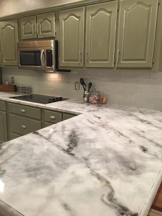 Kitchen Countertop on a Budget 3
