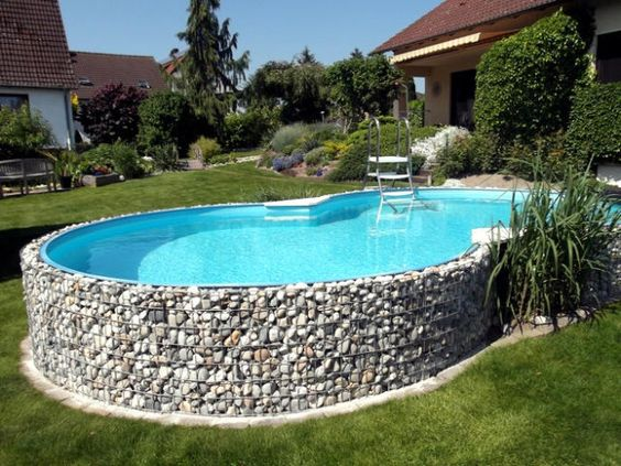 above ground swimming pool 21