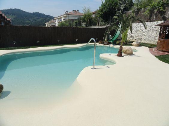 beach entry pool 12