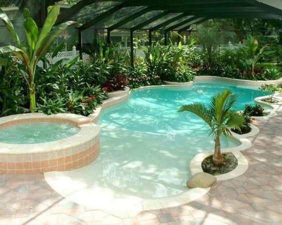 beach entry pool 5