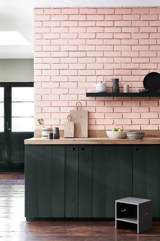 blush pink kitchen 12