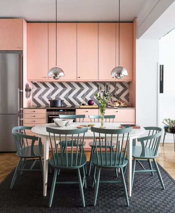 blush pink kitchen 4