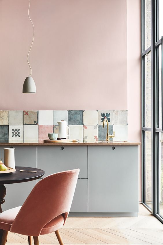 blush pink kitchen 5