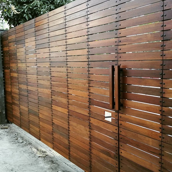 cedar fencing ideas 11