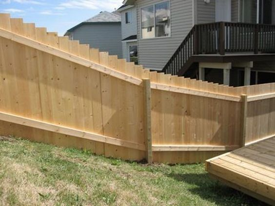 cedar fencing ideas 17