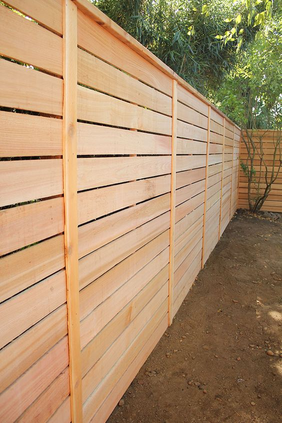 cedar fencing ideas 20