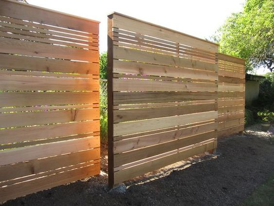 cedar fencing ideas 25