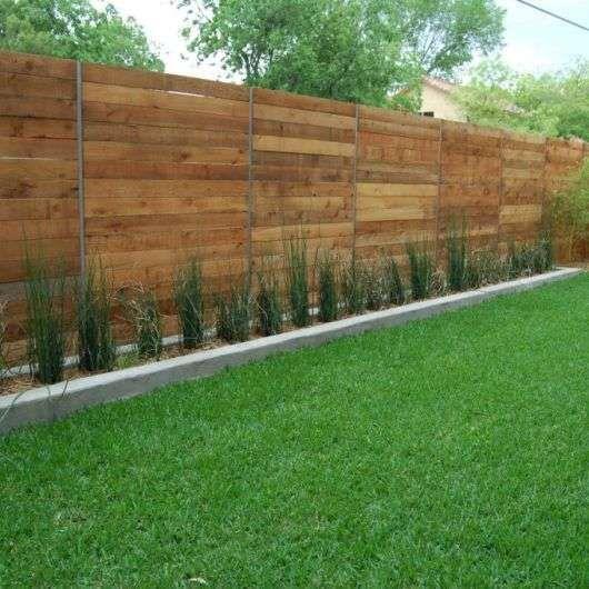 cedar fencing ideas 8