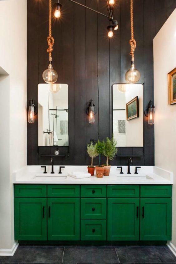 colored bathroom vanity 15