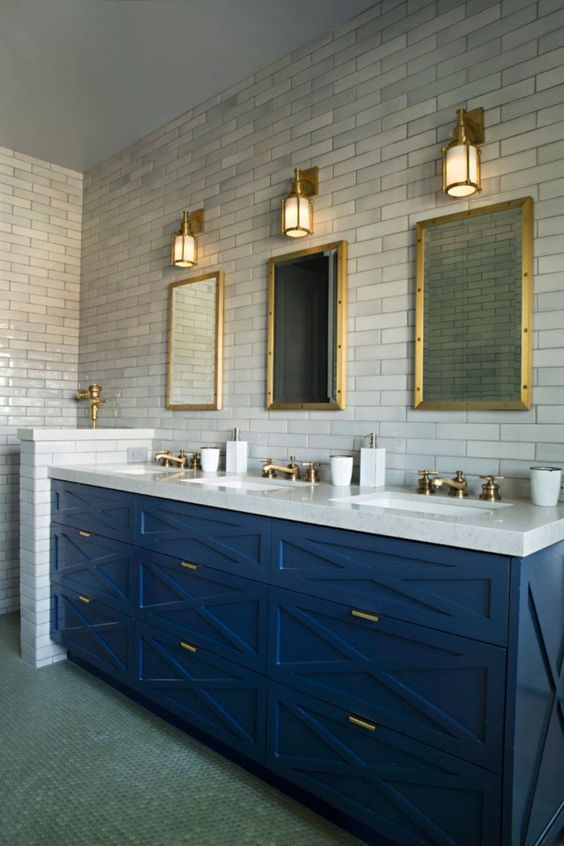 colored bathroom vanity 20