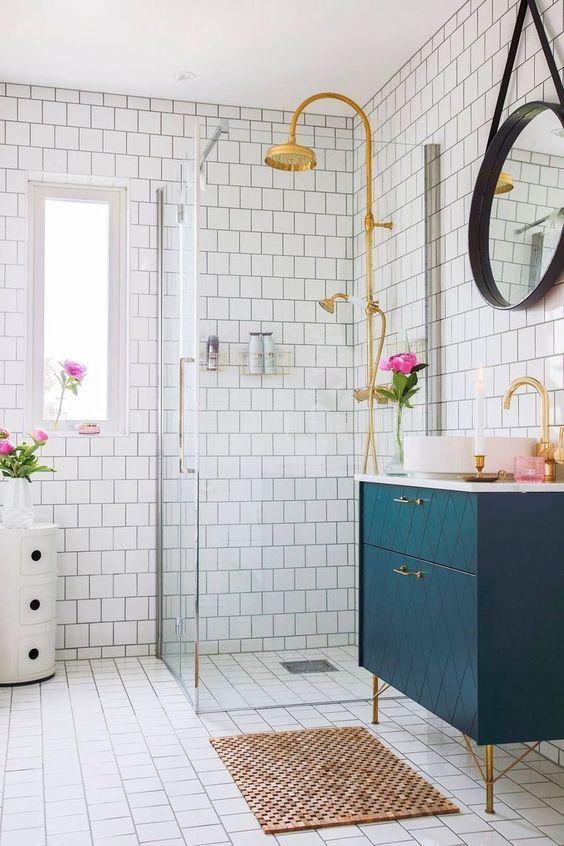 colored bathroom vanity 3