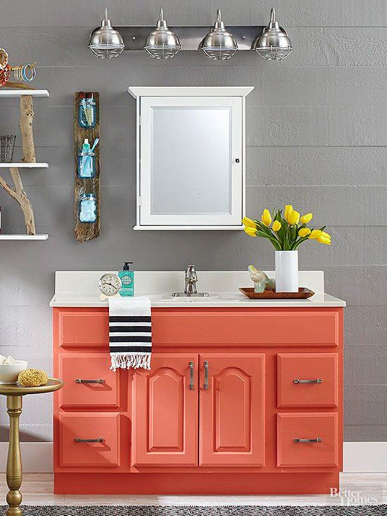 colored bathroom vanity 7