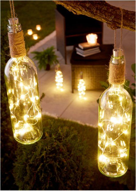 diy backyard lighting 11