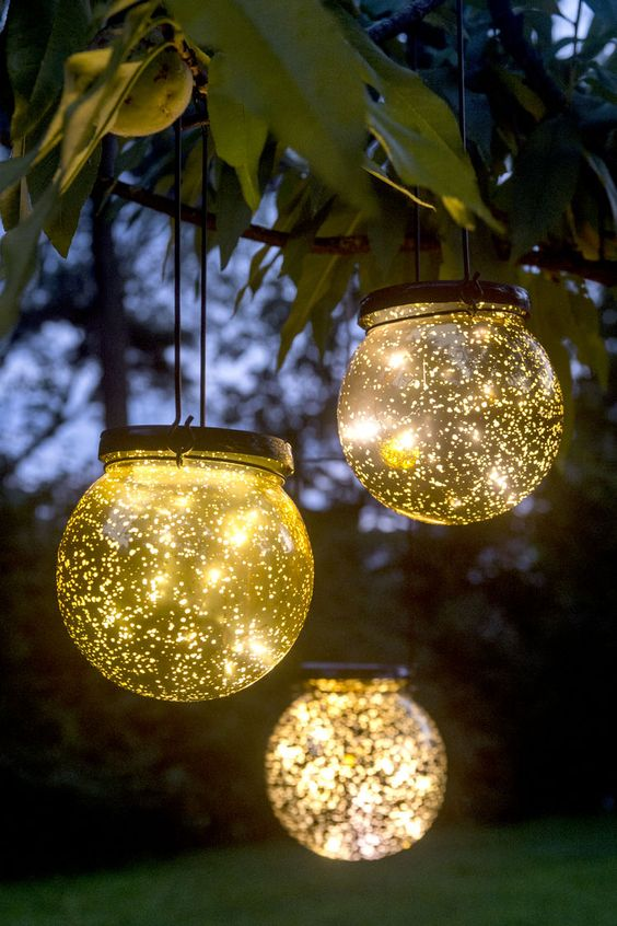 diy backyard lighting 19