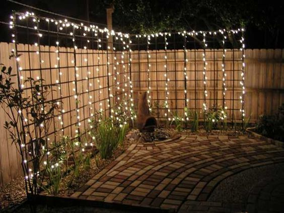 diy backyard lighting 20