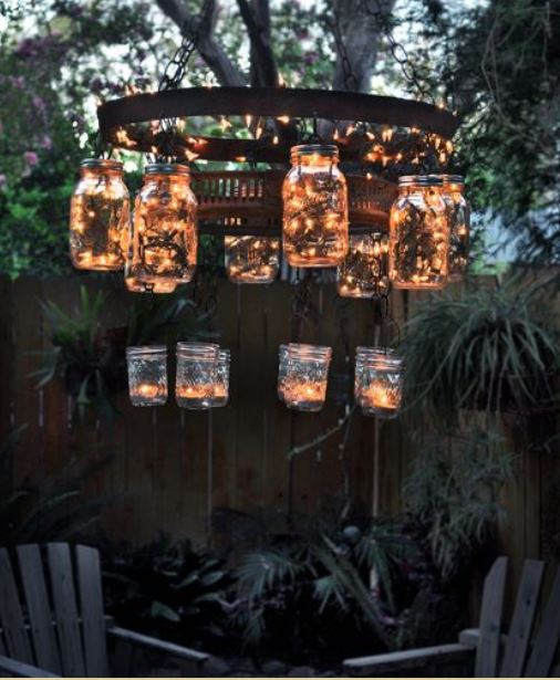 diy backyard lighting 4
