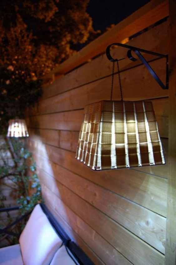 diy backyard lighting 6
