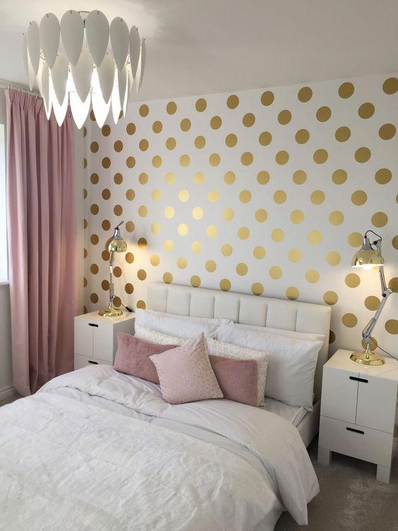 gold bedroom ideas 12