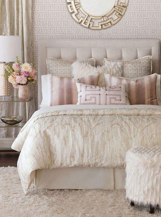 gold bedroom ideas 14