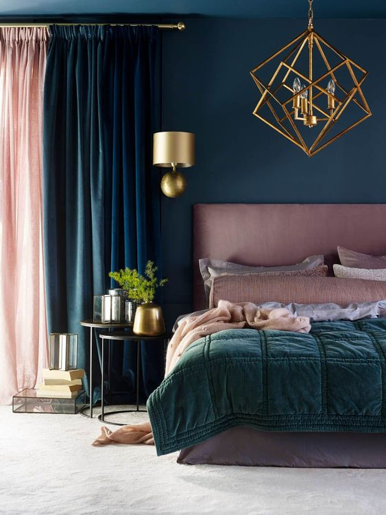 gold bedroom ideas 6