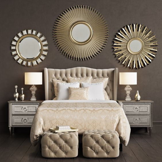 gold bedroom ideas 8