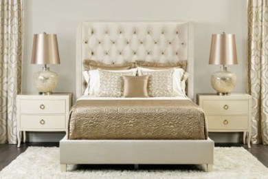 gold bedroom ideas feature