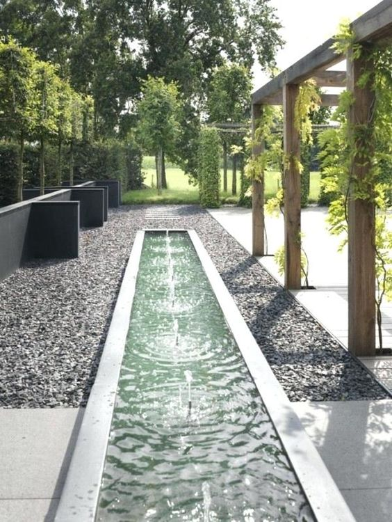 modern fountain ideas 15