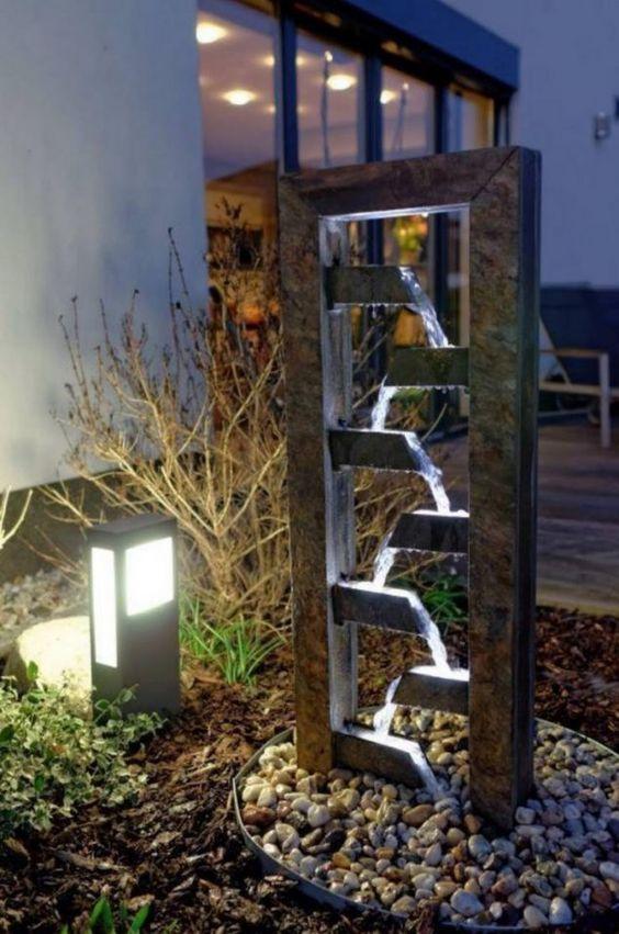 modern fountain ideas 21