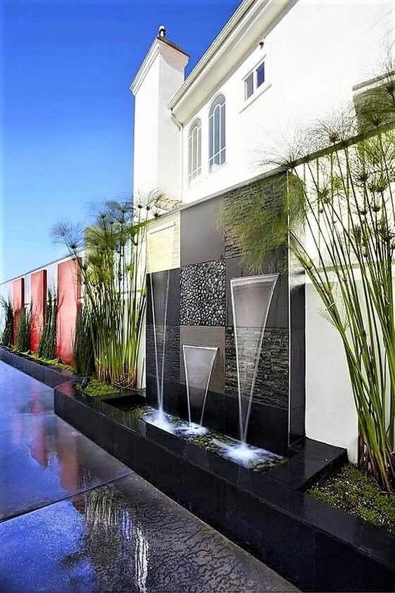 modern fountain ideas 24