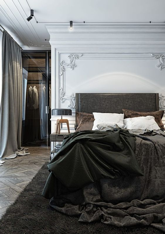 modern french bedroom 13