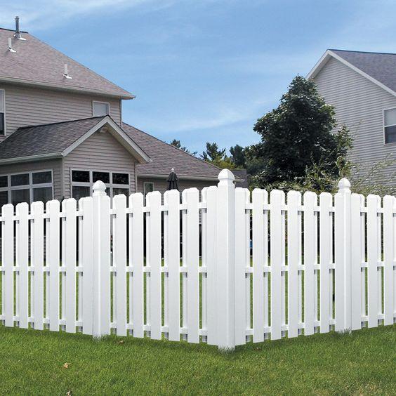 modern vinyl fence 6