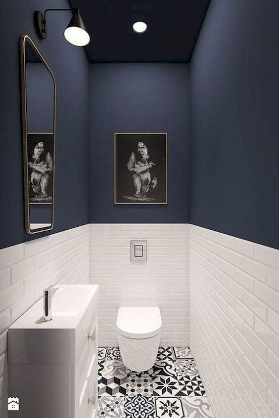 navy bathroom 2