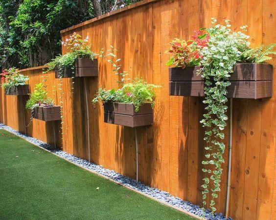 Modern Wood Fence 17