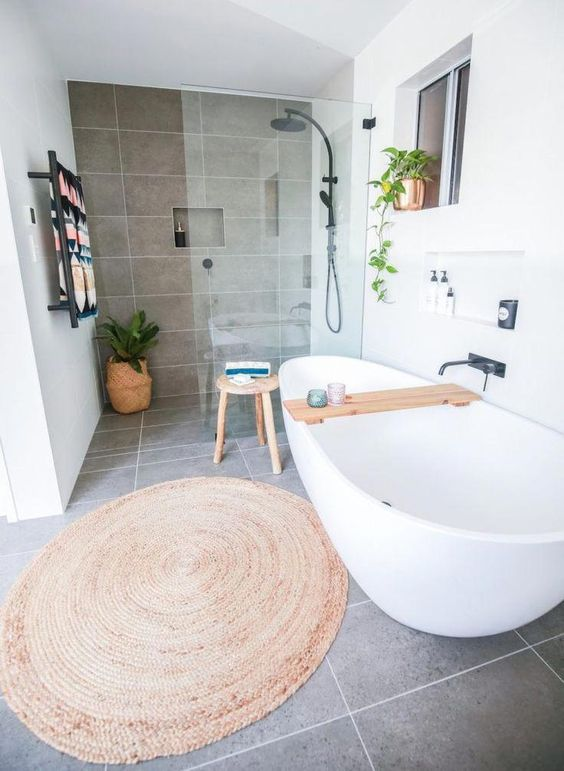 Scandinavian Bathroom Ideas 19