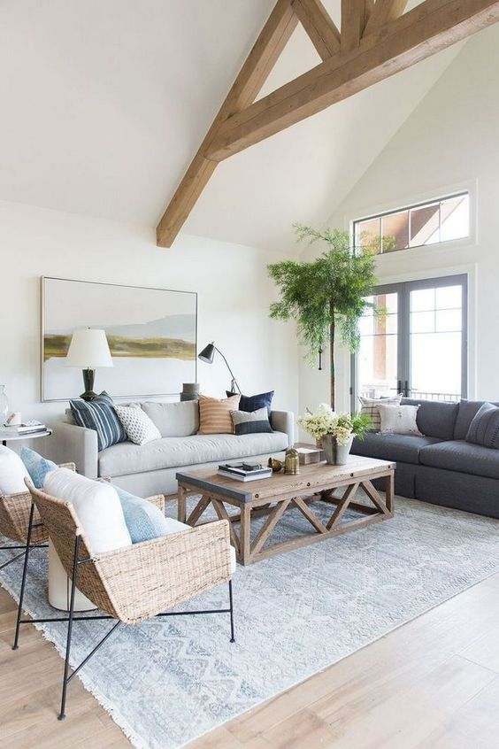 farmhouse living room 10
