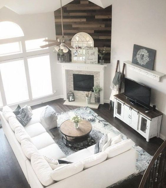 farmhouse living room 18