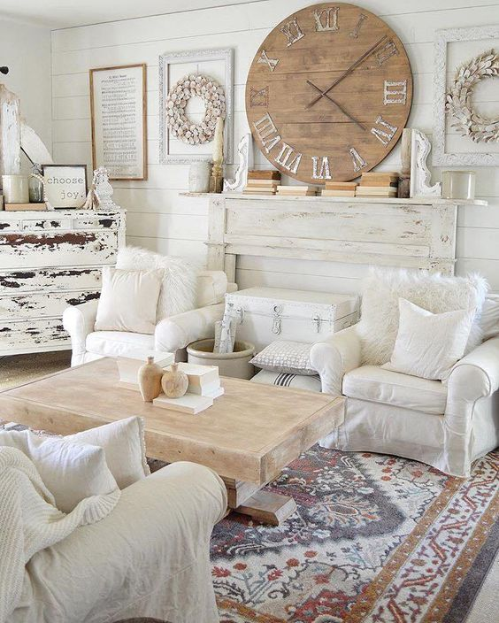 farmhouse living room 20